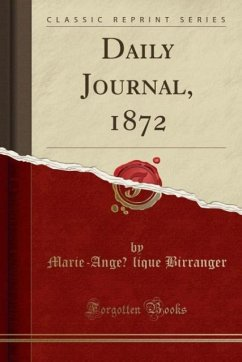Daily Journal, 1872 (Classic Reprint)