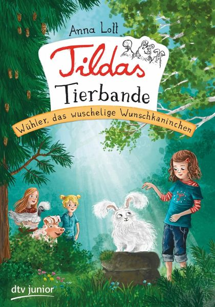 Buch-Reihe Tildas Tierbande