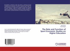 The Role and Function of Sport Economic Studies...
