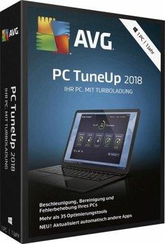 AVG PC TuneUp 2018, Code in a Box