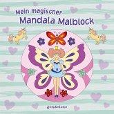 Mein magischer Mandala Malblock (Blumenelfe)