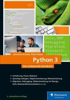 Python 3 (eBook, ePUB) - Kaiser, Peter; Ernesti, Johannes