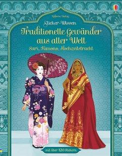 Sticker-Wissen: Traditionelle Gewänder aus alle...