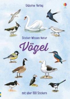 Sticker-Wissen Natur: Vögel - Clarke, Phillip