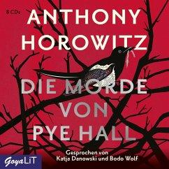 Die Morde von Pye Hall, 8 Audio-CDs - Horowitz, Anthony