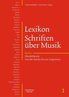 Lexikon Schriften über Musik (eBook, PDF)