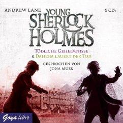 Young Sherlock Holmes - Tödliche Geheimnisse & Daheim lauert der Tod, 6 Audio-CDs - Lane, Andrew