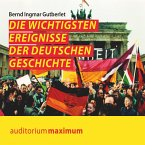 Die wichtigsten Ereignisse der deutschen Geschichte (Ungekürzt) (MP3-Download)