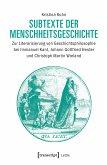 Subtexte der Menschheitsgeschichte (eBook, PDF)