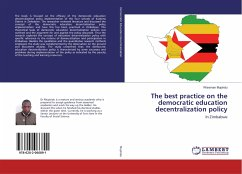 The best practice on the democratic education decentralization policy