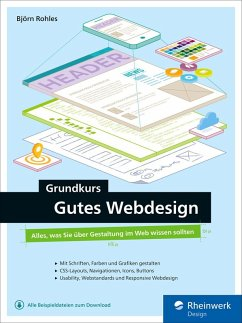 Grundkurs gutes Webdesign (eBook, PDF)