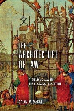 The Architecture of Law (eBook, ePUB)