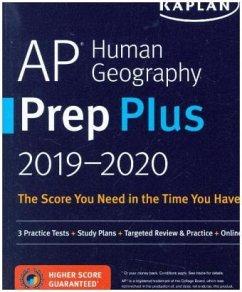 AP Human Geography Prep Plus 2019-2020: 3 Pract...