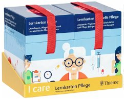 I care Lernkarten Pflege - Set (im Umkarton) - Anton, Walter; Schön, Jasmin