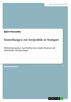 Einstellungen zur Asylpolitik in Stuttgart
