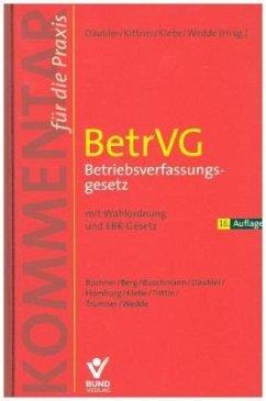 BetrVG Betriebsverfassungsgesetz