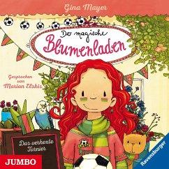 Das verhexte Turnier / Der magische Blumenladen Bd.7 (1 Audio-CD) - Mayer, Gina