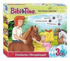 Bibi & Tina - Die Ponys sind los, 3 Audio-CD