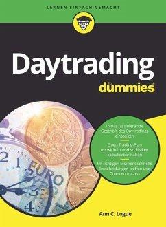 Daytrading für Dummies - Logue, Ann C.