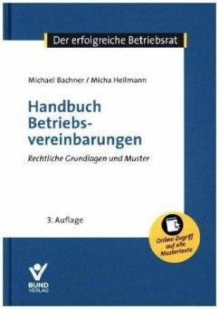 Handbuch Betriebsvereinbarungen