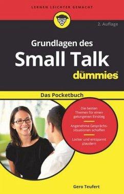 Grundlagen des Small Talk für Dummies Das Pocketbuch - Teufert, Gero