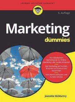 Marketing für Dummies - McMurtry, Jeanette