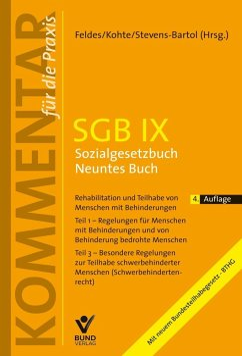 SGB IX - Sozialgesetzbuch Neuntes Buch