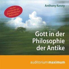 Gott in der Philosophie der Antike (Ungekürzt) (MP3-Download) - Kenny, Anthony