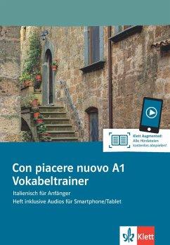 Con piacere nuovo A1. Vokabeltrainer. Heft inklusive Audios für Smartphone/Tablet