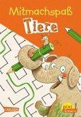 Mitmachspaß: Tiere / Pixi kreativ Bd.104