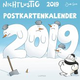 Nichtlustig Postkartenkalender 2019
