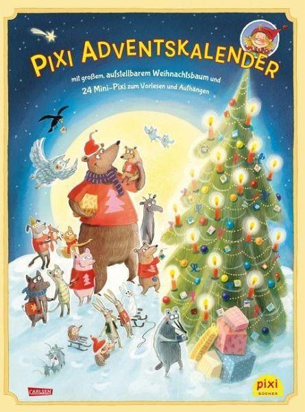 Wunderbar Pixi Adventskalender Mit Weihnachtsbaum 2018