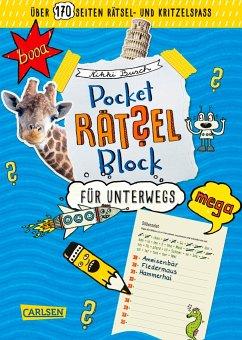 Pocket-Rätsel-Block: Rätsel für unterwegs - Busch, Nikki