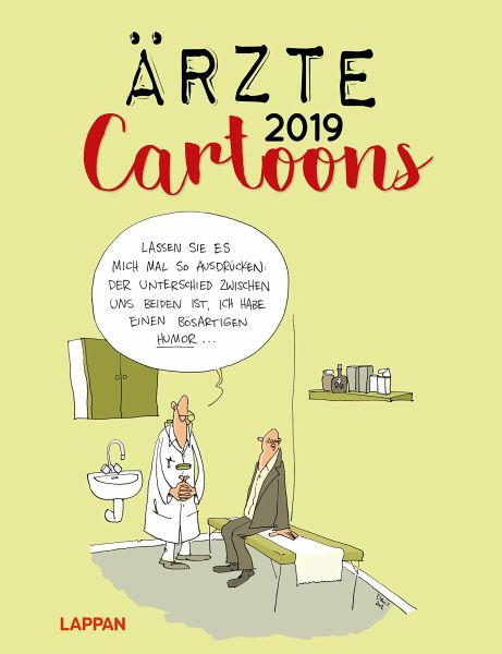 Arzte Cartoons 2019 Kalender Portofrei Bestellen