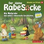 Der kleine Rabe Socke - Die Mutprobe und andere rabenstarke Geschichten, 1 Audio-CD