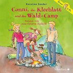 Conni, das Kleeblatt und das Wald-Camp / Conni & Co Bd.14 (2 Audio-CDs)