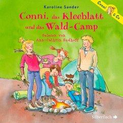 Conni, das Kleeblatt und das Wald-Camp / Conni & Co Bd.14 (2 Audio-CDs) - Sander, Karoline