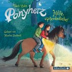 Hilfe, Pferdediebe! / Ponyherz Bd.11 (1 Audio-CD)