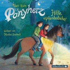 Hilfe, Pferdediebe! / Ponyherz Bd.11 (1 Audio-CD) - Luhn, Usch