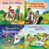 Maxi-Pixi-Serie Nr. 70: 4er Bundle: Pferde und Ponys (4x1 Exemplar)