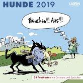 Hunde - Postkartenkalender 2019