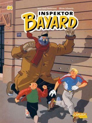 Buch-Reihe Inspektor Bayard
