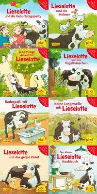 Pixi-Bundle 8er Serie 251: Lieselotte (8x1 Exemplar)