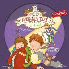 Licht aus! / Die Schule der magischen Tiere Bd.3 (1 Audio-CD) - Auer, Margit