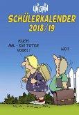 Uli Stein Schülerkalender 2018/2019 Spiralbindung