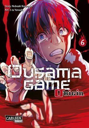 Buch-Reihe Ousama Game Origin