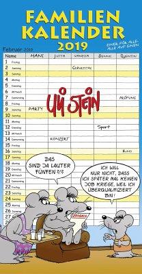 Uli Stein Familienkalender 2019 - Stein, Uli