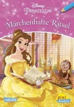 Disney Prinzessin - Märchenhafte Rätsel / Pixi kreativ Bd.114