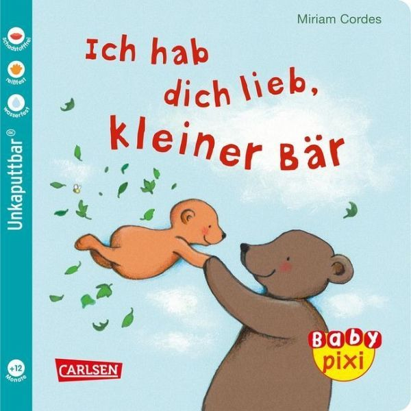 Ich hab dich lieb, kleiner Bär von Miriam Cordes portofrei