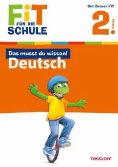 Das musst du wissen! Deutsch 2. Klasse (Mängele...